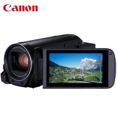 佳能(Canon)HF R806/R86高清数码摄像机57倍变焦家用旅游手持式专业DV光学防抖录像机 HF R806黑+128G卡+三脚架