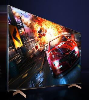 索尼(SONY)京品家电 KD-65X9100H 65英寸 4K超高清 游戏电视 全面屏AI智能 HDMI2.1 支持4K120Hz输入