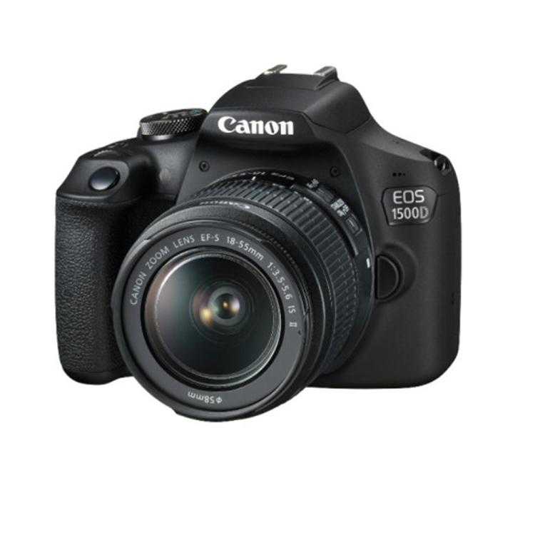 佳能/Canon EOS 1500D 18-55镜头 单反相机 黑色