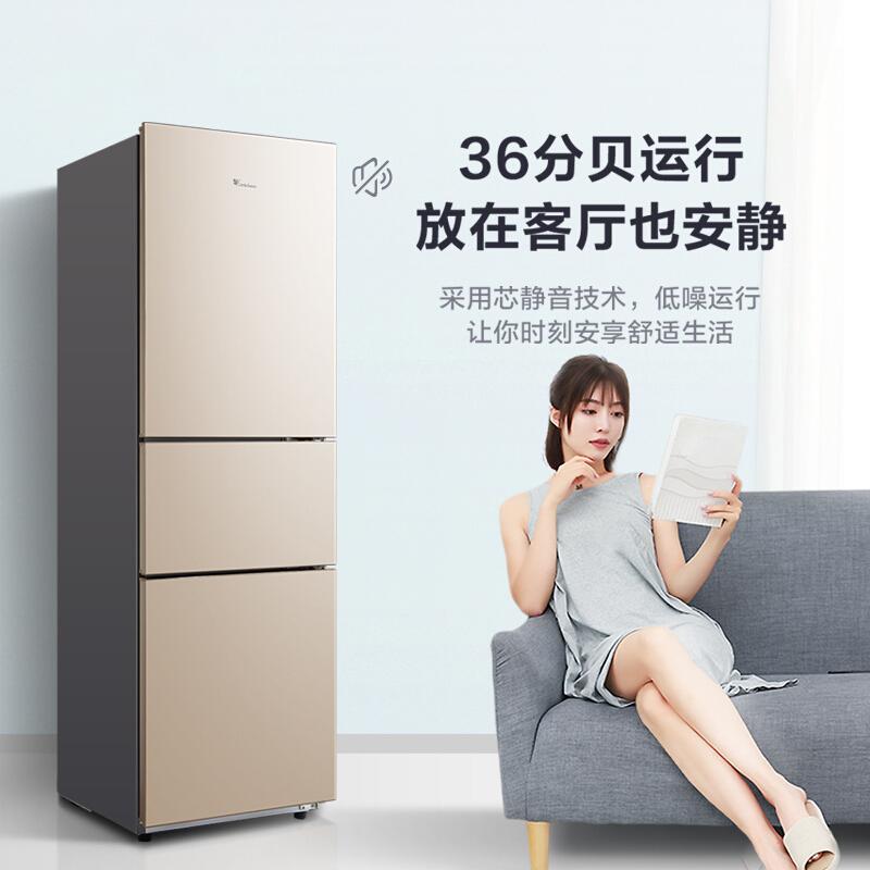 小天鹅(LittleSwan) BCD-219TL 219升 三门冰箱
