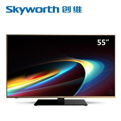 创维4K高清电视机55E388