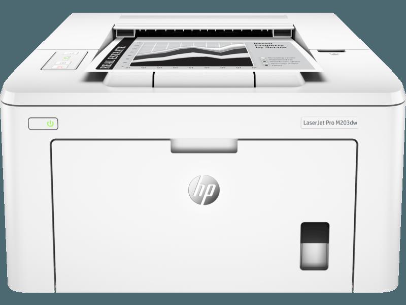 HP M203DW黑白激光打印机